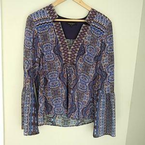 Nanette Lepore 100 percent silk blouse